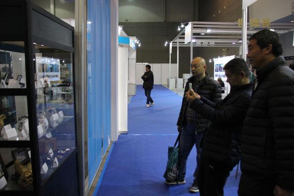 Die Exponate wurden vielfach fotografiert, sind diese doch ansonsten nicht in China zu finden.
