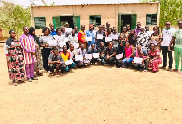 Formation intensive de 6jours sur 13 modules en agroécologie