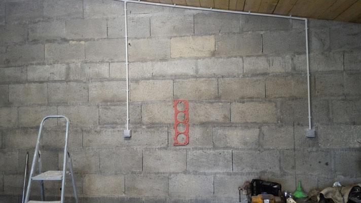 rénovation d'un garage