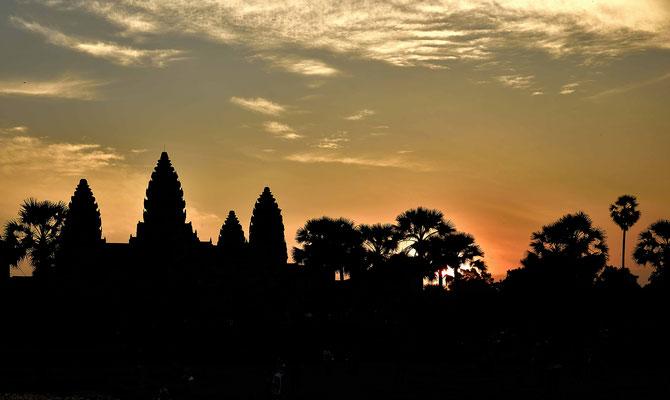 Angkor Wat am frühen Morgen
