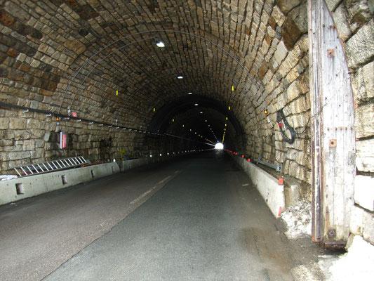 Endlich am Tunnel am Hochtor