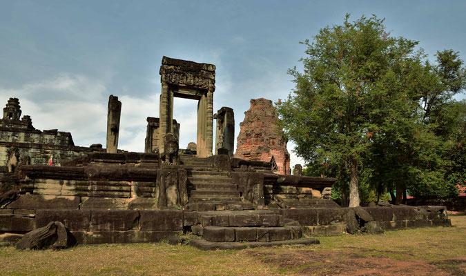 Überreste des Tempels von Bakong