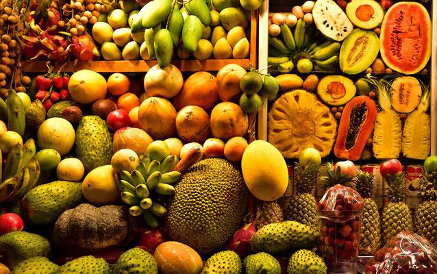 Kambodschanische Früchte