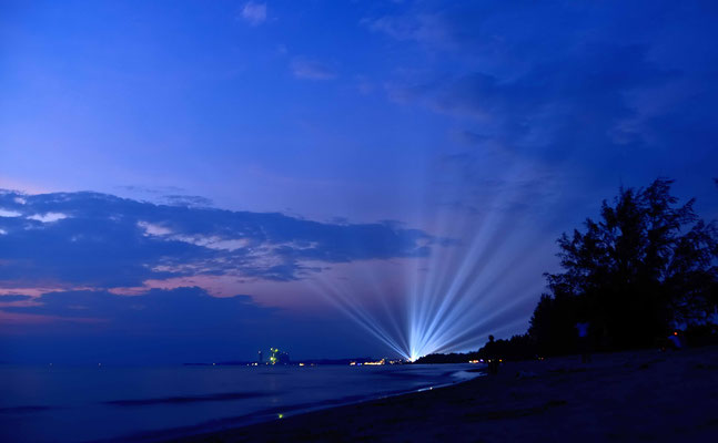 Lichter von Sihanoukville