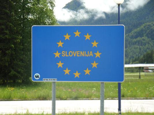 zum 1. mal in Slowenien