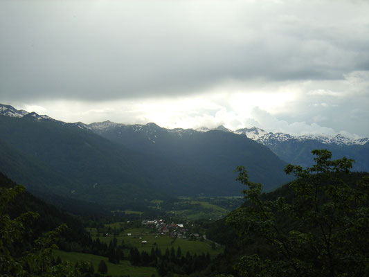 und wieder runter nach Bohinjsko Bistrica