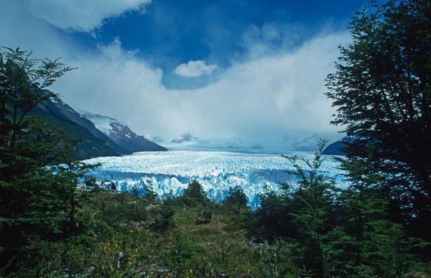 "Die Gletscherzunge des "" Perito Moreno "" im Nationalpark "" Los Glaciares """