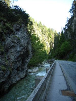 An der Straße zum Pillersee