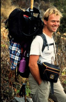 1998 auf einer 16 tägigen Trekkingtour in Neoal