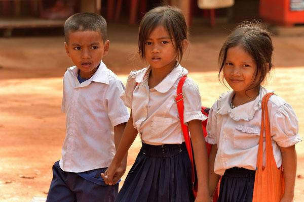 Schulmädchen bei Lolei