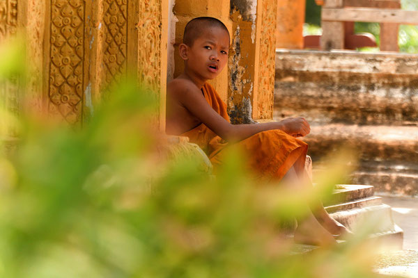 Buddhistischer Novize