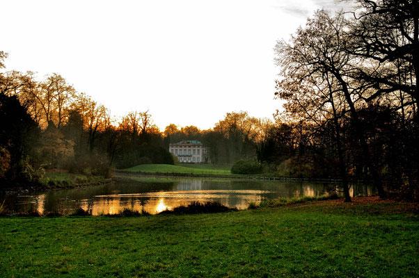 Ein wunderschöner Landschaftspark ist der Schönbusch in Aschaffenburg