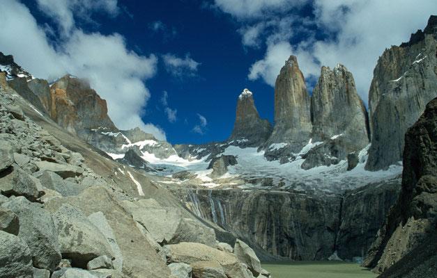 Wir nutzten den Tag und machten eine Wanderung zum Mirrador der Torres del Paine, was für eine Atemberaubende Kulisse.