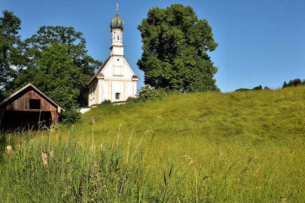 Das St. Georgskirchl  beim Ähndl