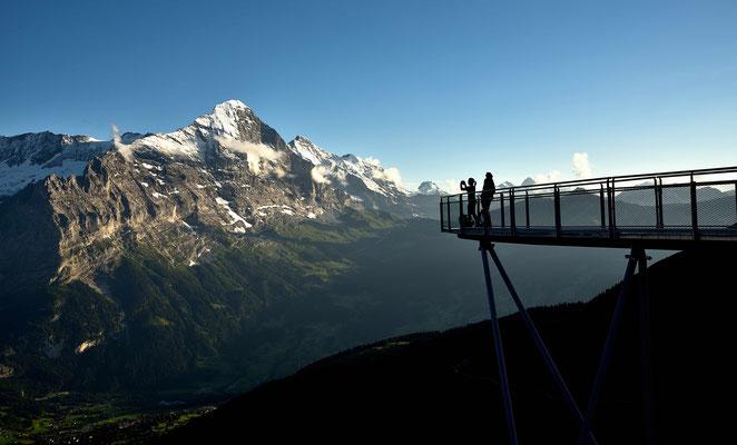 Auf dem Skywalg über Grindelwald