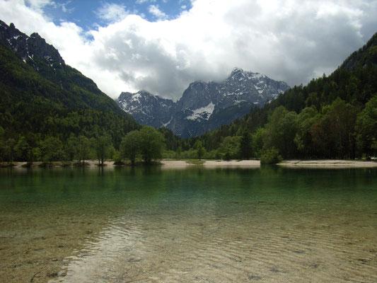 am Idyllischen See vorbei