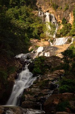 Die Rawana Wasserfälle