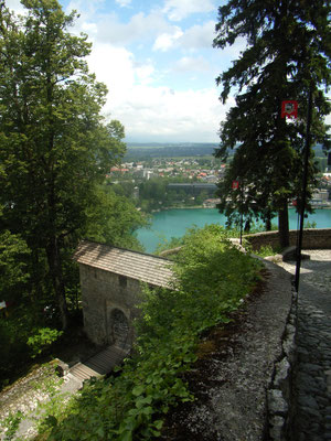 Auf der Burg von Bled