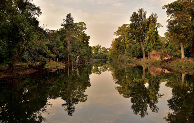 Kanal bei Preah Khann
