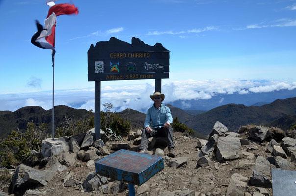 2015 auf dem Cerro Chirripo in Costa Rica