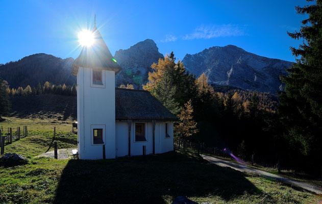 Die Kapelle bei der Kührointalm