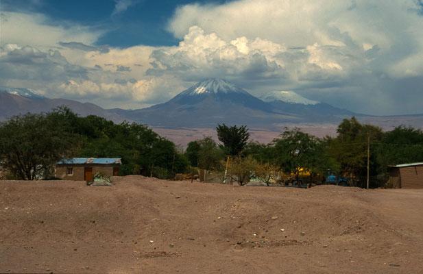 Nun ging es in die Atacama Wüste, genauer nach San Pedro de Atacama, dem Touristischen Zentrum der Atacama Wüste.