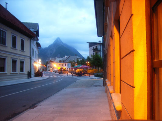 Abends in Bovec