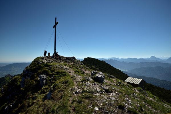 Gipfelkreuz auf der Benediktenwand