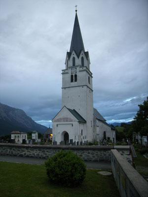 Die Kirche in Feistritz