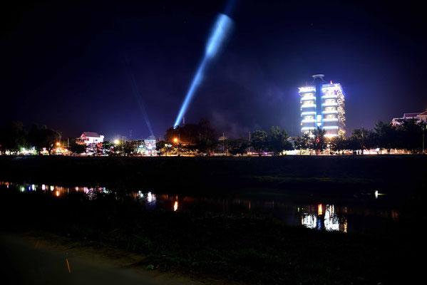 Abendlichter von Battambang