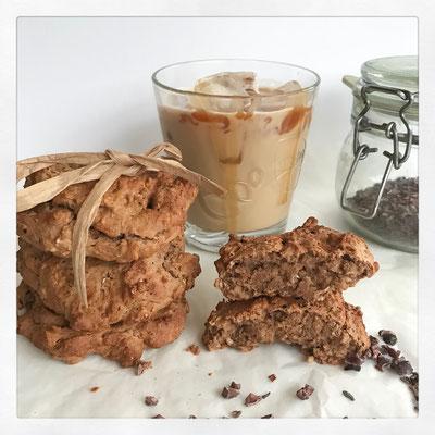 Havermout koeken (met kikkererwten)