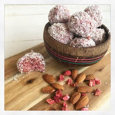 Aardbeien Bites