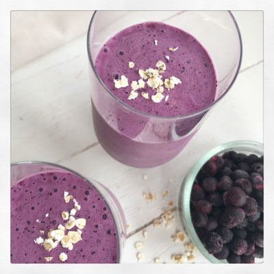 Blueberry & banaan muffin Smoothie