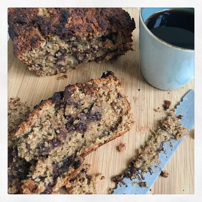 Pindakaas-chocolatechip-bananenbrood