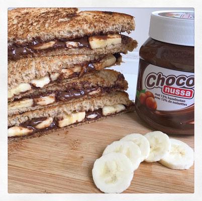 Tosti Nutella & Banaan