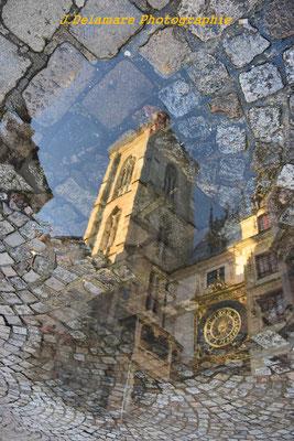 Reflet du Gros Horloge