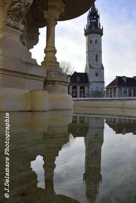 Reflet de la fontaine