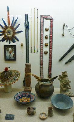 Exponate aus Mittelamerika     COPYRIGHT: Thomas Merbt