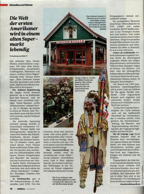 Indianermuseum Derenburg in der SUPERillu Bericht von joerg.abromeit@superillu.de   FOTOS: Yorck Maecke/SUPERillu
