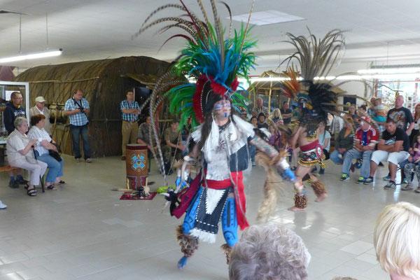 Issac und Roberto Martinez im Indianermuseum 2015