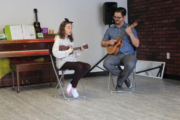Professeur Ricardo avec Juliette