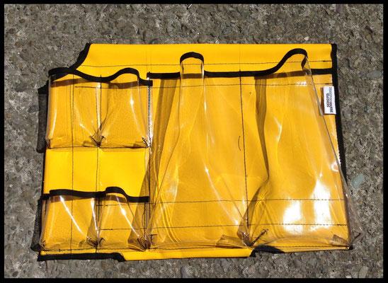 PVC Yellow Pouch,