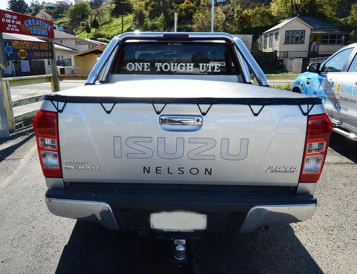 Isuzu D Max Ute Tonneau, Nelson, New Zealand