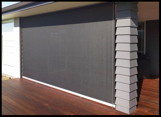 Mesh Patio Screen, Moutere, Nelson