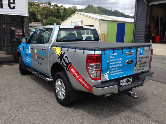 Ford Ranger Ute Tonneau, Nelson, New Zealand