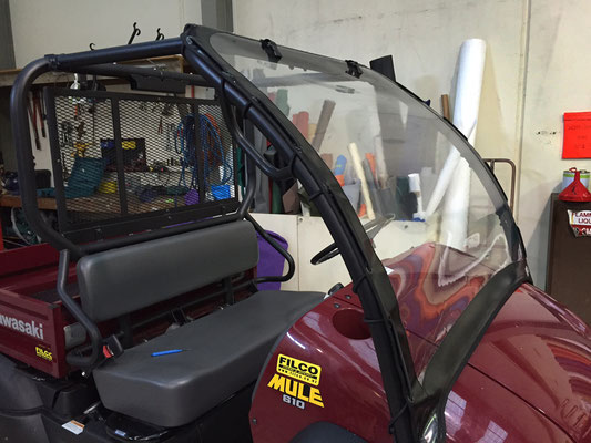 ATV Windscreen