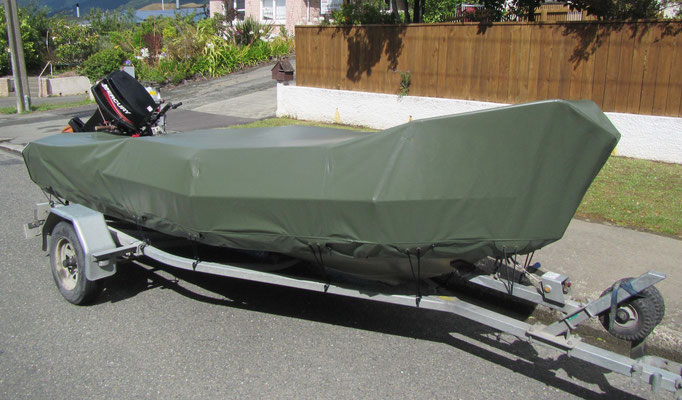 Camoflage Boat Cover, Nelson, New Zealand