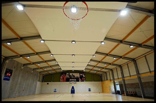 Golden Bay Recreation Centre Main Gymnasium Acoustic Panels