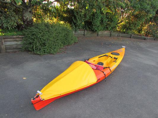 Fishing Kayak Cover, Nelson, New Zealand