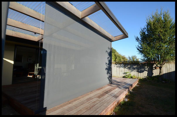 Patio Blinds, Richmond, Nelson, New Zealand